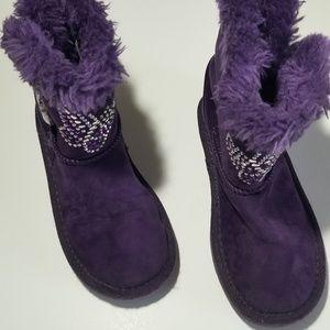 Purple Piper boots